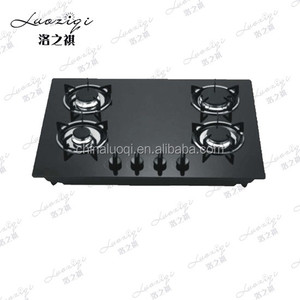 High Quality Black Tempered Glass Gas Stove Spare Parts