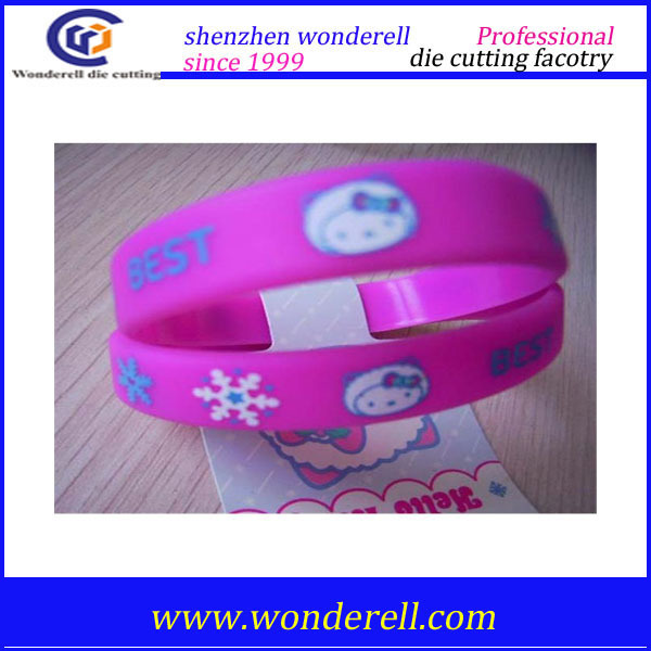 factory price customized Silicone Rubber Hand Band, Logo Printed/ debossed/ embossed/ personalized silicone wristband