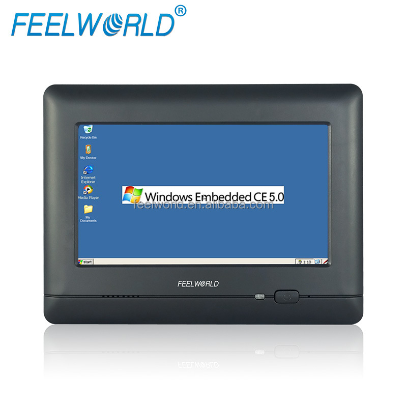 desktops industrial pc embedded computer touchscreen 7 inch 4-wire resistive winCE Tablet PC