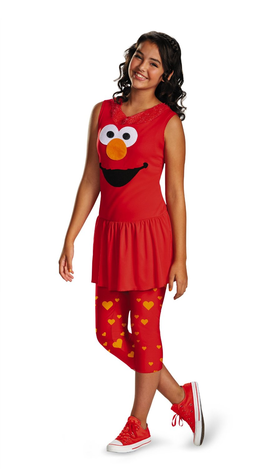 Cheap Elmo Costume For Adults Find Deals On Cuddle Me Pajamas Look And Get Quotations Disguise Sesame Street Tween Classic X Large 14 16