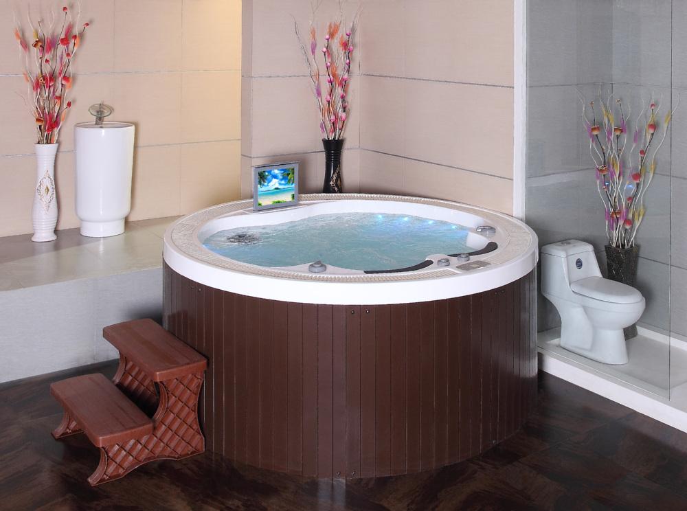 Delighted Round Spa Bath Gallery - Bathroom with Bathtub Ideas ...