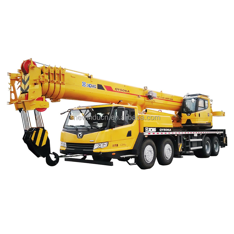 brand new QY50KA best 50ton truck crane jib stock for sale