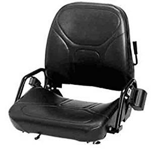WISE Vinyl Forklift Type Seat (TCM, Komatsu, Allis Chalmers, Baker)