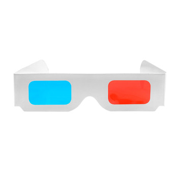 Newest custom logo design good price colorful foldable linear polarized paper 3d glasses