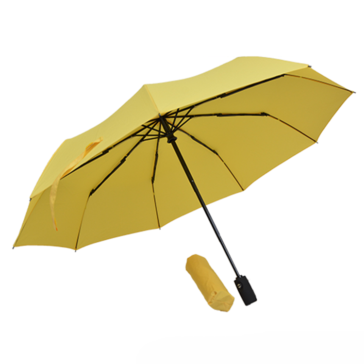 OEM different color foldable business umbrella  travel umbrella with super waterproof