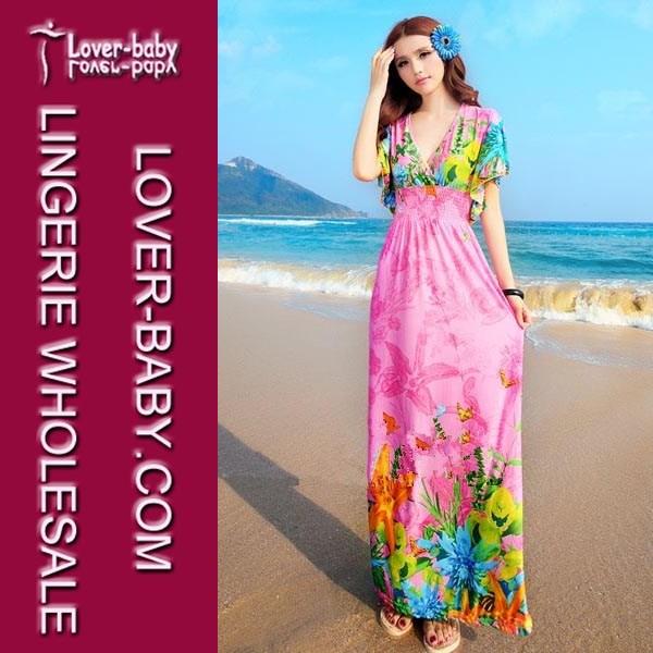 venta al por mayor de verano casual para damas vestido para fiesta ...