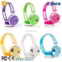 Stylish Colorful Stereo wired headset for supermarket retailing