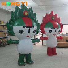 Inflatable cartoon mascot Fuwa PVC creative cartoon characters promotional model factory outlet