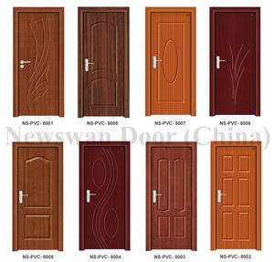 Nigeria Mdf Wooden Door Price Bathroom Pvc Door With Soncap