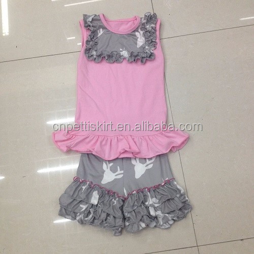 2017 asian summer kids clothing wholesale children clothing manufacturers china 100% cotton brand girls outfits