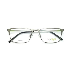 a6ecfb555da IN-007 2018 Fashion Cheap Korean Designer Light Titanium Eye Glasses Titan Eyewear  Eyeglasses Frames