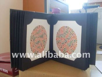Ishihara Color Blindness Test Book - Iso & Ce Certified - Buy ...