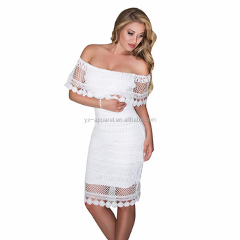 White Plus Size Party Dresses For Women Erkalnathandedecker