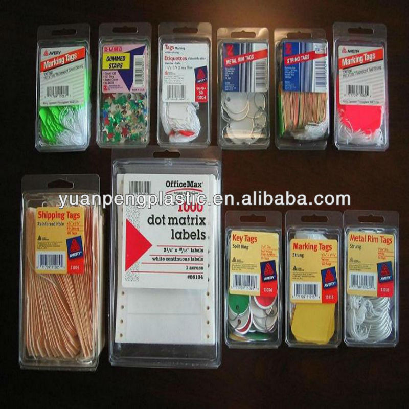 heat seal blister pack for hair extension