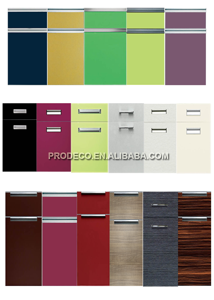 High Gloss Colored Glass Kitchen Cabinet Doors With Kitchen Island Kitchen  Units Part 35