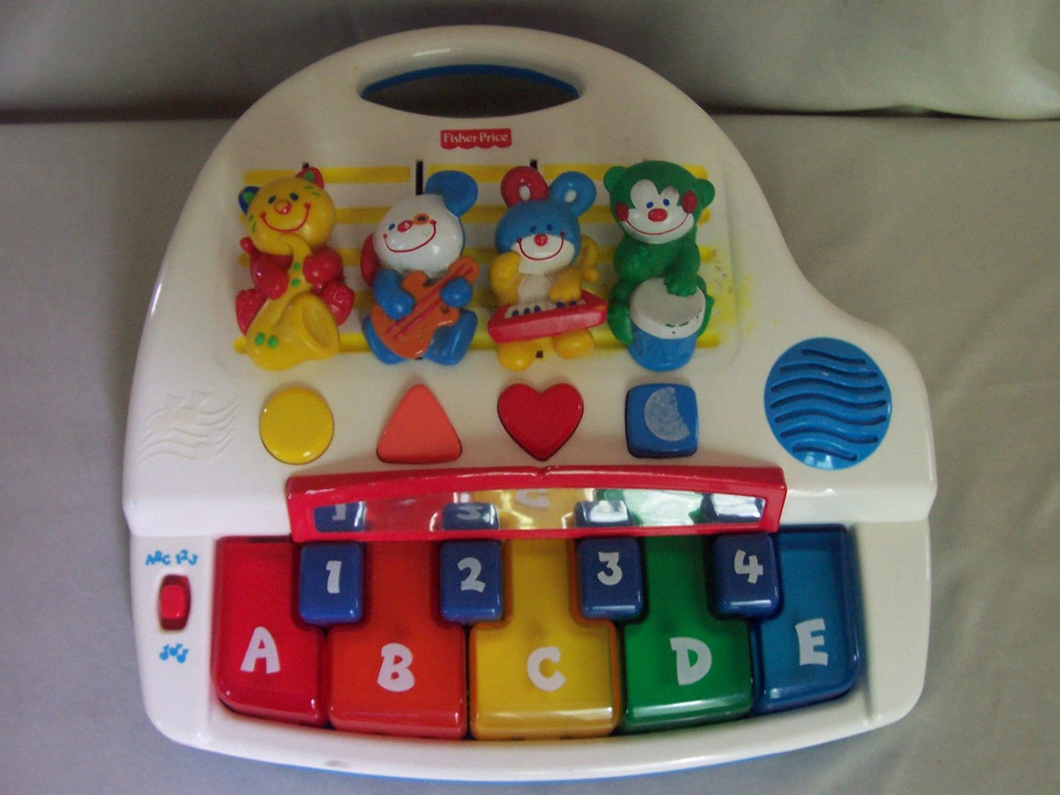 Alphabet Learning Toys : Buy fisher price learning piano alphabet numbers shapes in cheap