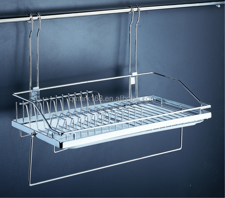 Metal Kitchen Wall Hanging Wire Detachable Bowl&dish Rack/wall ...