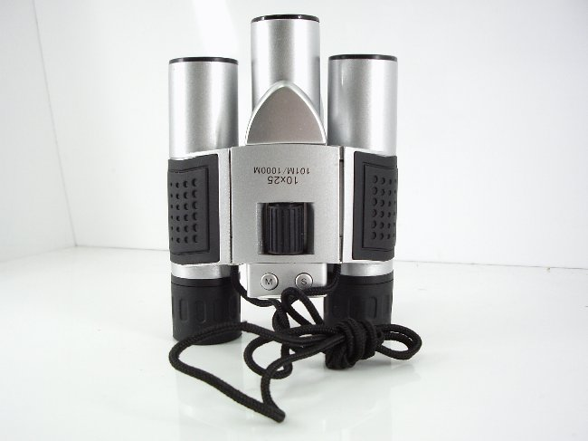 300k/25mm objective lens binoculars combind with digital camera and new design