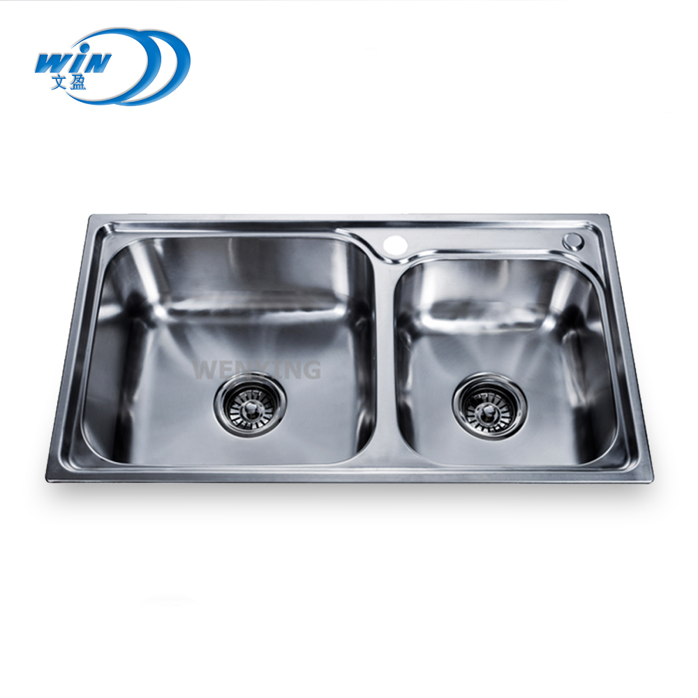 Wy 7742 Malaysia Standard Size Sink For Modern Restaurant Kitchen
