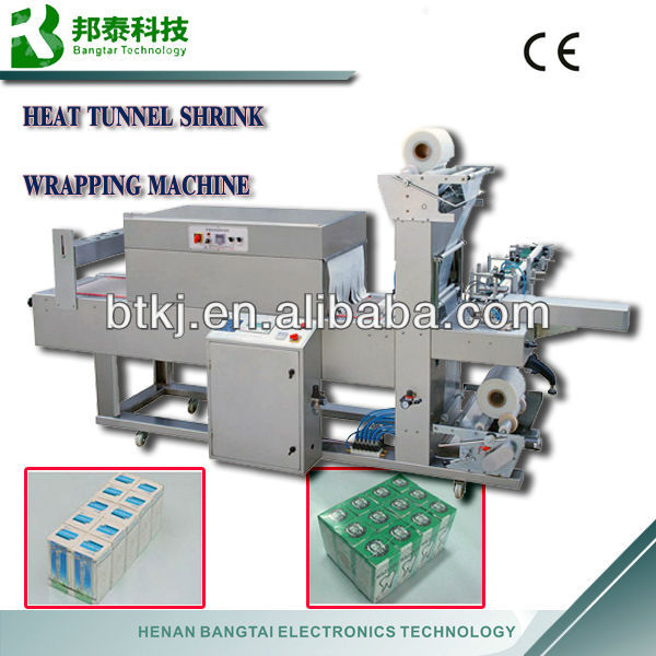 Shrink machine, automatical shrink sleeve machine, heat tunnel shrink wrapping machine