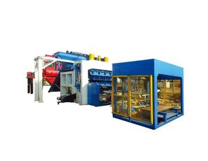 Vibrating press for production of paving /price hollow block machine