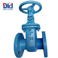 "Cast Iron 2"" Inch 125 Flange Non Rising Ductile Iron Butt Weld Gate Valve Price List"
