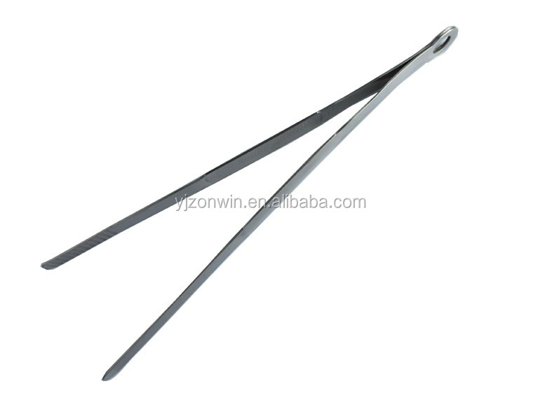 Item E1-028 wholesale stainless steel ice tong / food tong