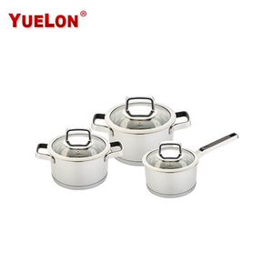 German style Stainless steel cookware sets cooking pot