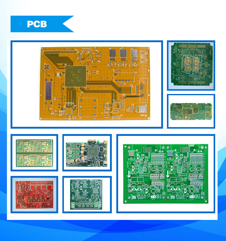 Electronic Printed Circuit Board Control PCB Board Shenzhen PCB Layout