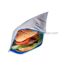 Insulated Resealable Thermal Lunch Snack Sandwich Bag For Picnic