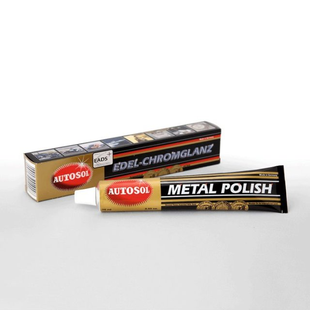 Autosol Metal Polish - 75ml tube