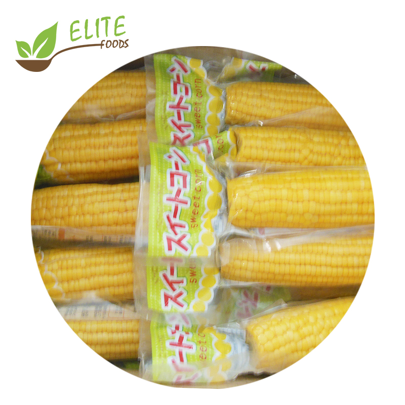 2019 New Season Vacuum Package Sweet <strong>Corn</strong> on the Cob with Good Price