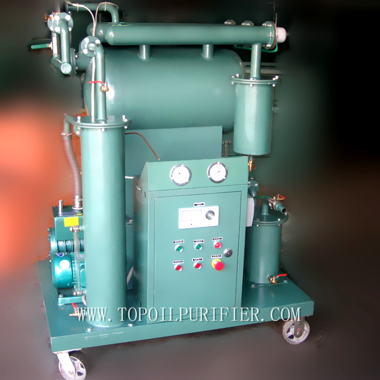 ZY Transformer Oil Purifying Plant/Oil Filtration Machine/Oil Purifier,Water Gases Dirt Removal And Dielectric Strength Improve