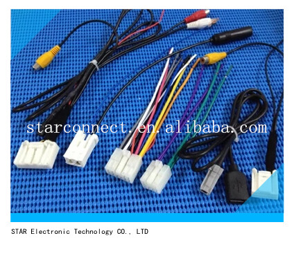 usb rca video bluetooth usb cable wire usb rca video bluetooth usb cable wire harness for toyota buy Toyota Stereo Wiring Diagram at soozxer.org