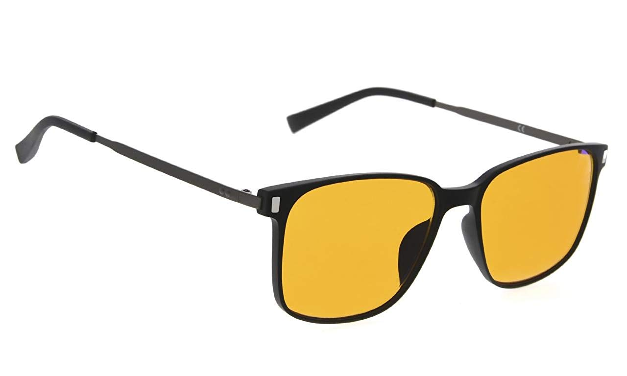 2c192d72bb6f Get Quotations · Sleep Better Eyeglasses - Blue Blocker Reading Glasses for  Computer TV Phone