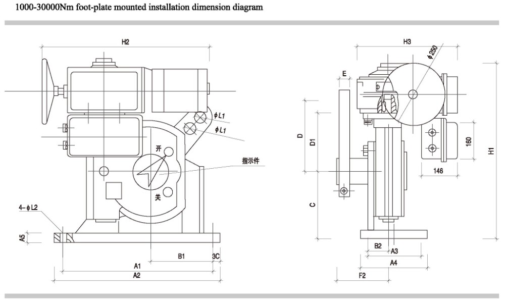 Rs250k40h Hight Quality Motorized Damper Modulating