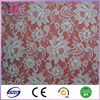 Flower designs white cotton lace/ french lace fabric/ guipure lace