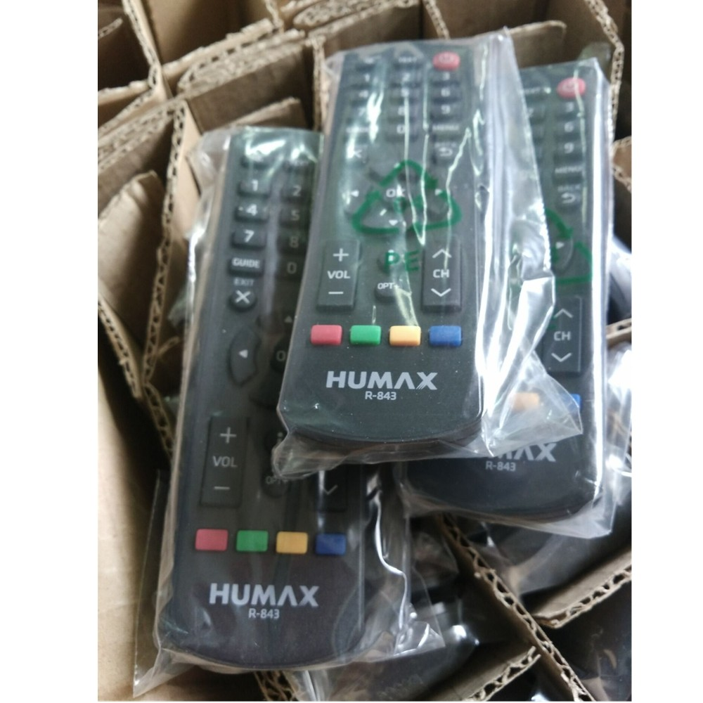 Wholesale- Good quality R-843 Remote Controller for Humax R-843 Set Top Box  Audio/Video Players free shipping