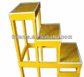 fiberglass FRP three steps stool ladders  sc 1 st  Alibaba & Fiberglass Frp Three Steps Stool Ladders - Buy Fiberglass Frp ... islam-shia.org