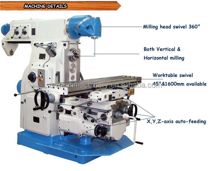 X6232cx16 Ram Type Milling Machine - Buy Ram Type Milling ...