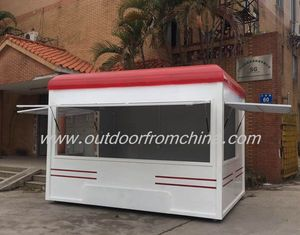 Hot selling Fast food kiosk franchise, BBQ kiosk design, Portable coffee kiosk