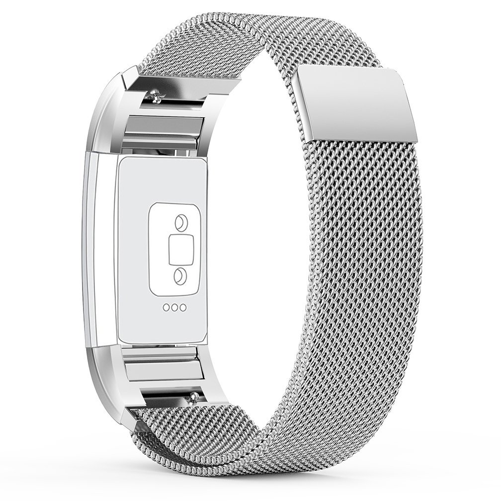 For Fitbit Charge 2,CreateGreat Metal Bracelet Accessory Band Strap for Fitbit Charge 2 Band/Fitbit Charge 2 Bands/Fitbit Charge 2 Wristbands/Charge 2 Fitbit Bands/Fitbit Charge 2