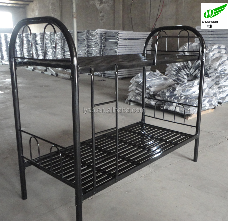 hot sale Factory price military iron double bed design