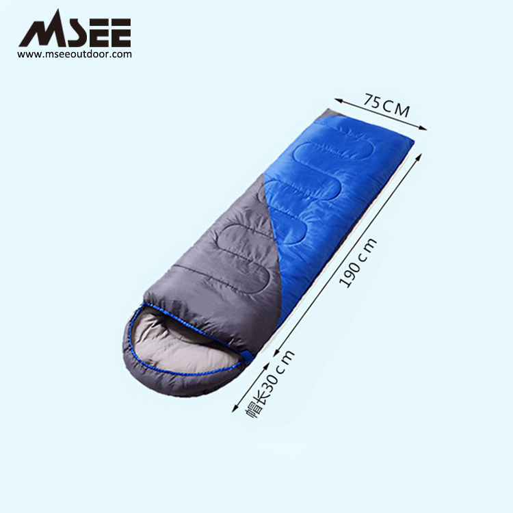 MSEE กลางแจ้งโรงงานถุงนอนที่กำหนดเองเติม feather และ ulright sleeping bag