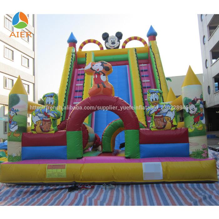 nouveau ch teau gonflable gonflable ch teau gonflable mickey mouse trampoline id de produit. Black Bedroom Furniture Sets. Home Design Ideas