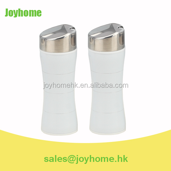 slim shape stainless steel oil and vinegar cruets