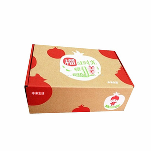 Tuck Top Corrugated Heavy Load Fruit Paper Box