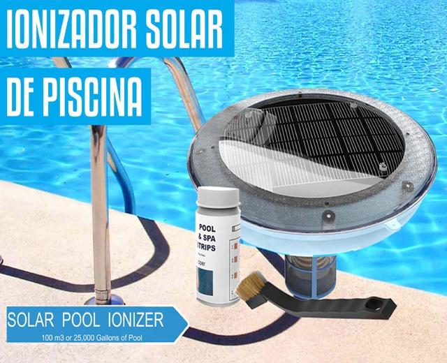 Solar Swimming Pool Ionizer / Ionizador Solar Para Piscinas - Buy Solar  Pool Ionizer,Solar Pool Copper Silver Ionizer,Solar Pool Purifier Product  on ...