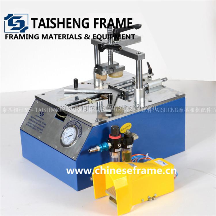 Desktop Nailing Machine/underpinner V Nailer For Photo Frame - Buy ...