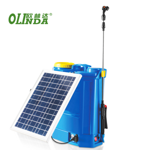 Wholesale agriculture knapsack insecticide spray pump 12V 16 liters solar power sprayer for rice